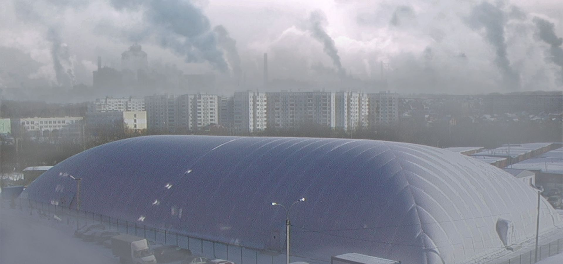 Anti-pollution domes